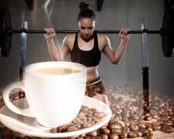Un caffè per mantenere l'impegno di fare esercizio fisico
